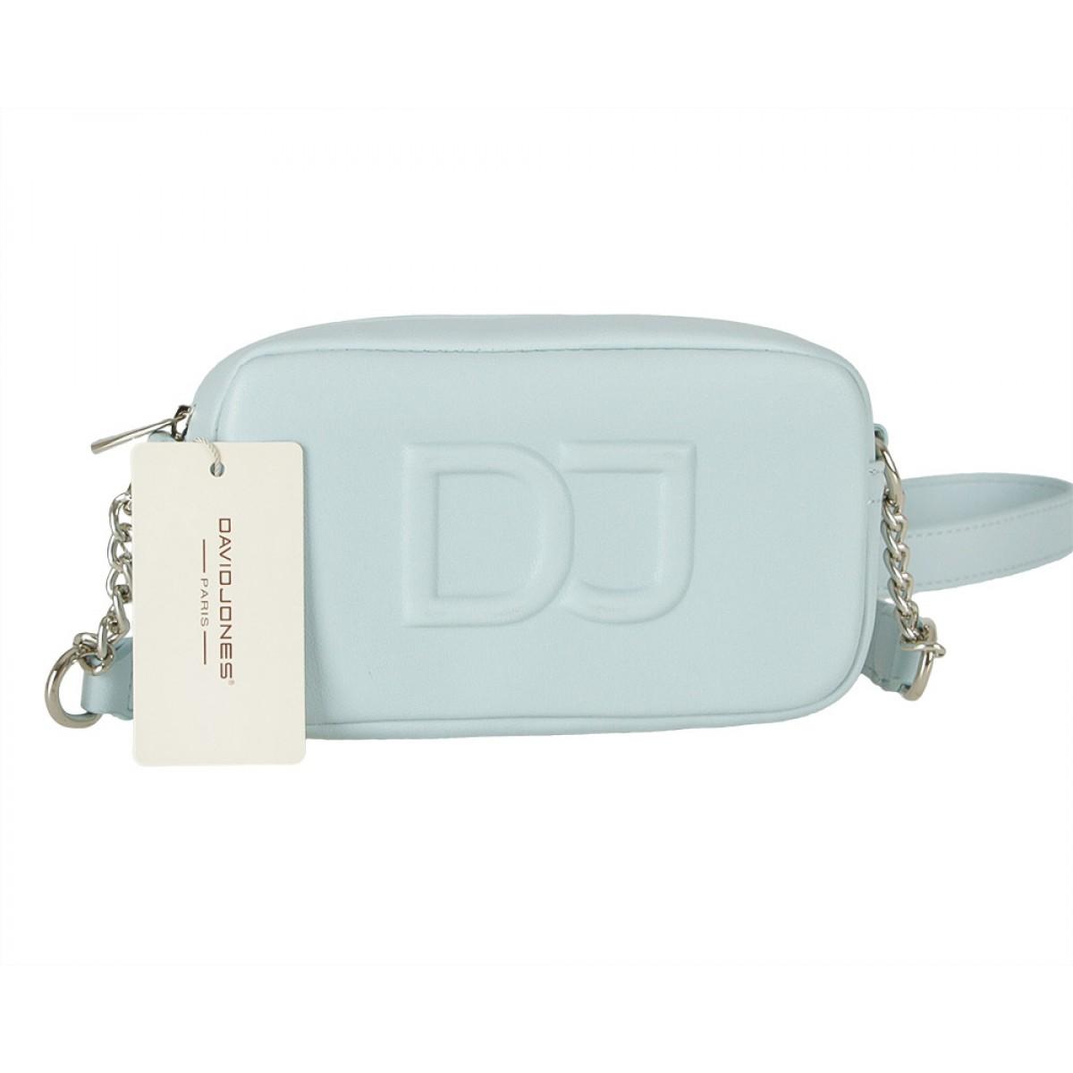 Жіноча сумка David Jones 6260-1 PALE BLUE