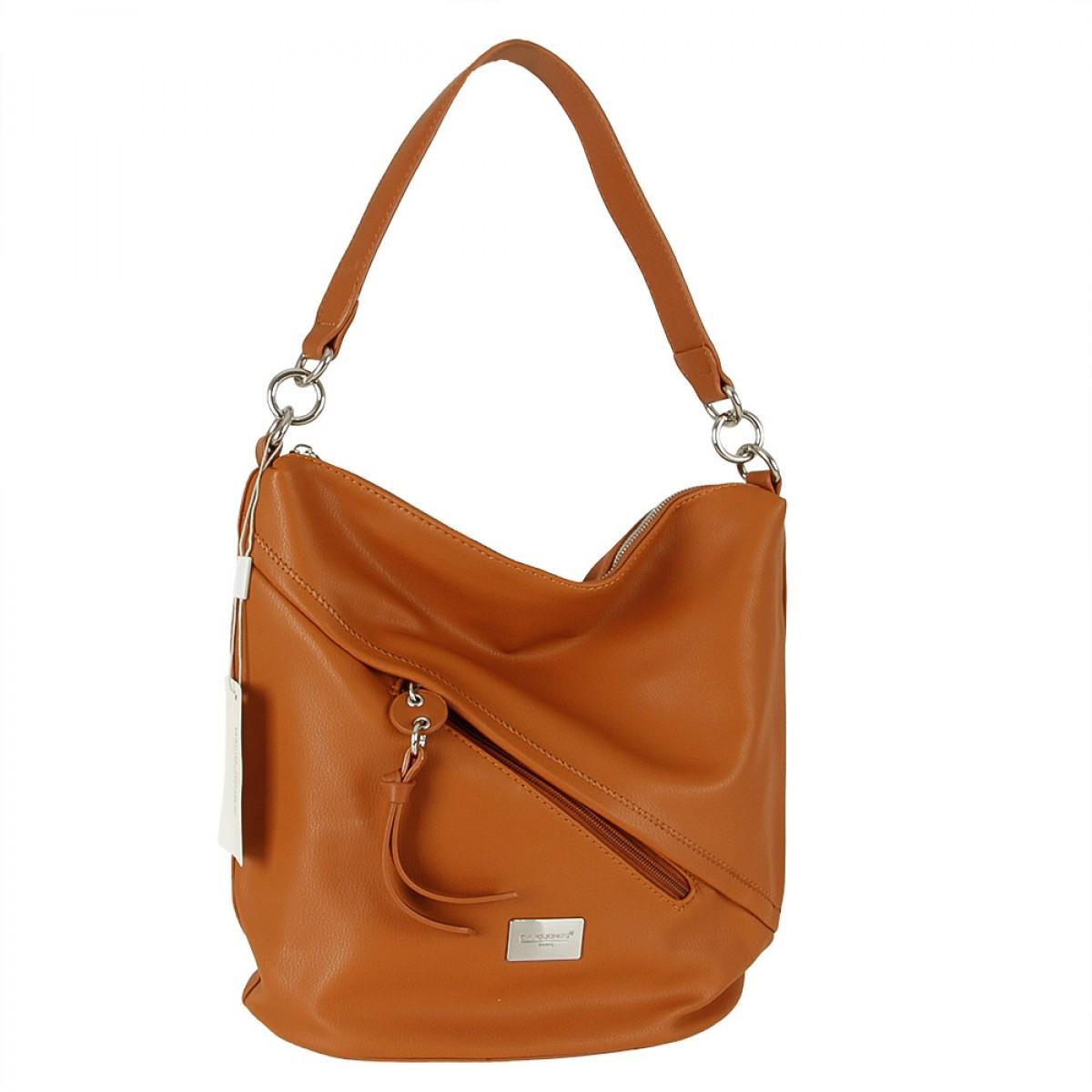 Жіноча сумка David Jones  6265-1 COGNAC