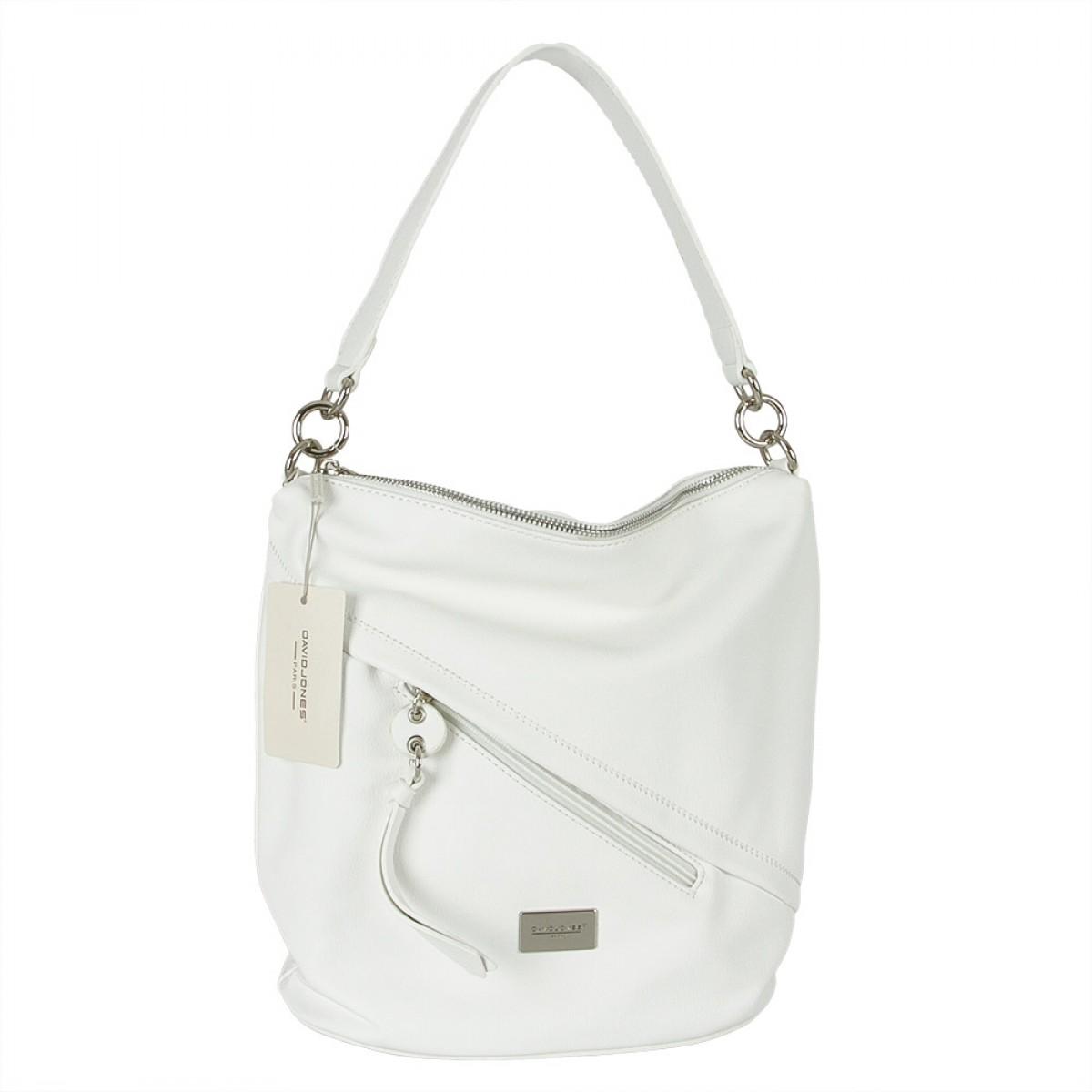 Жіноча сумка David Jones  6265-1 WHITE