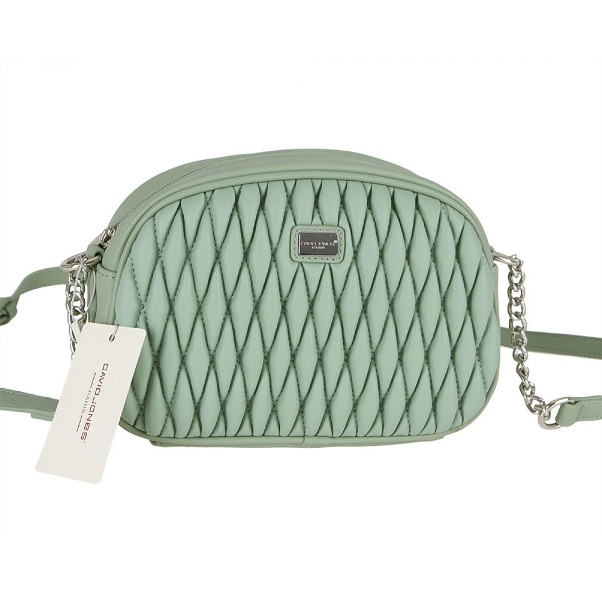 Жіноча сумка David Jones 6266-1 LIGHT GREEN
