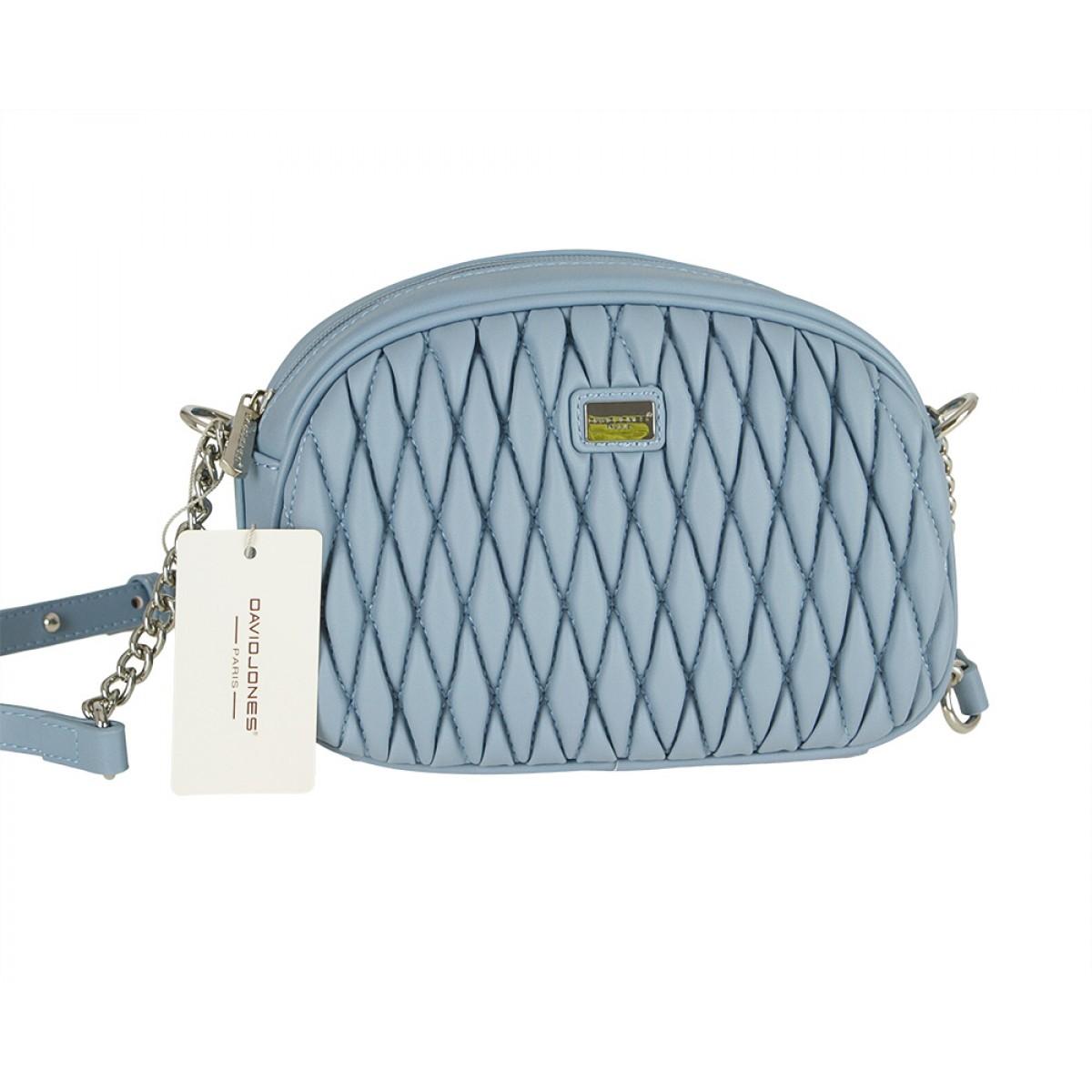 Жіноча сумка David Jones 6266-1 L.BLUE