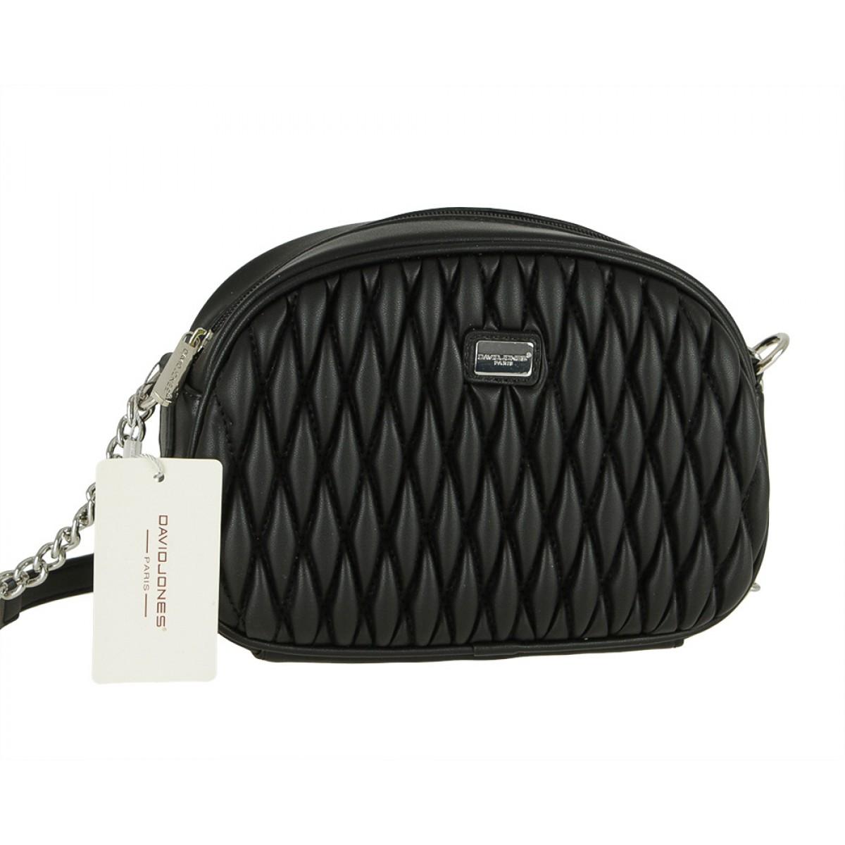 Жіноча сумка David Jones 6266-1 BLACK