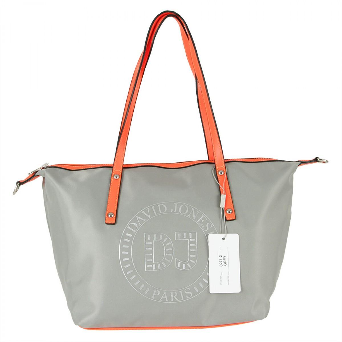 Жіноча сумка David Jones  6271-2 GREY