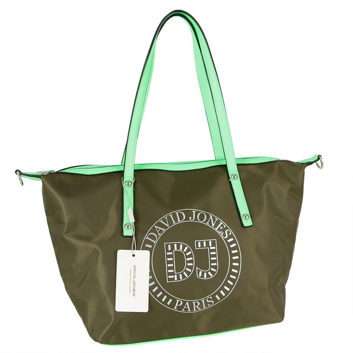Жіноча сумка David Jones  6271-2 VERT