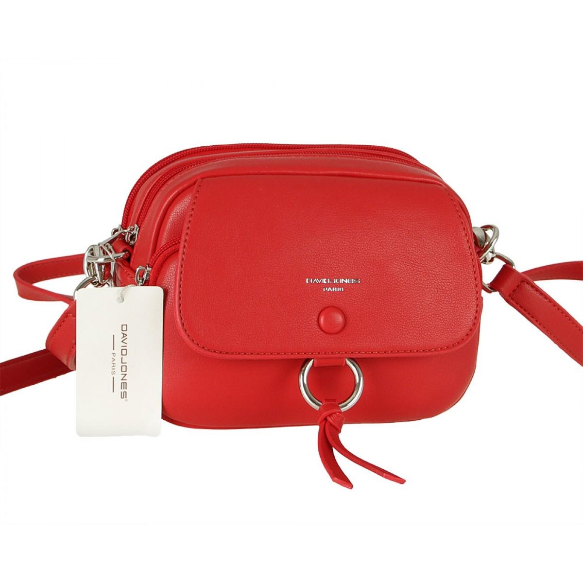 Жіноча сумка David Jones 6277-1 RED