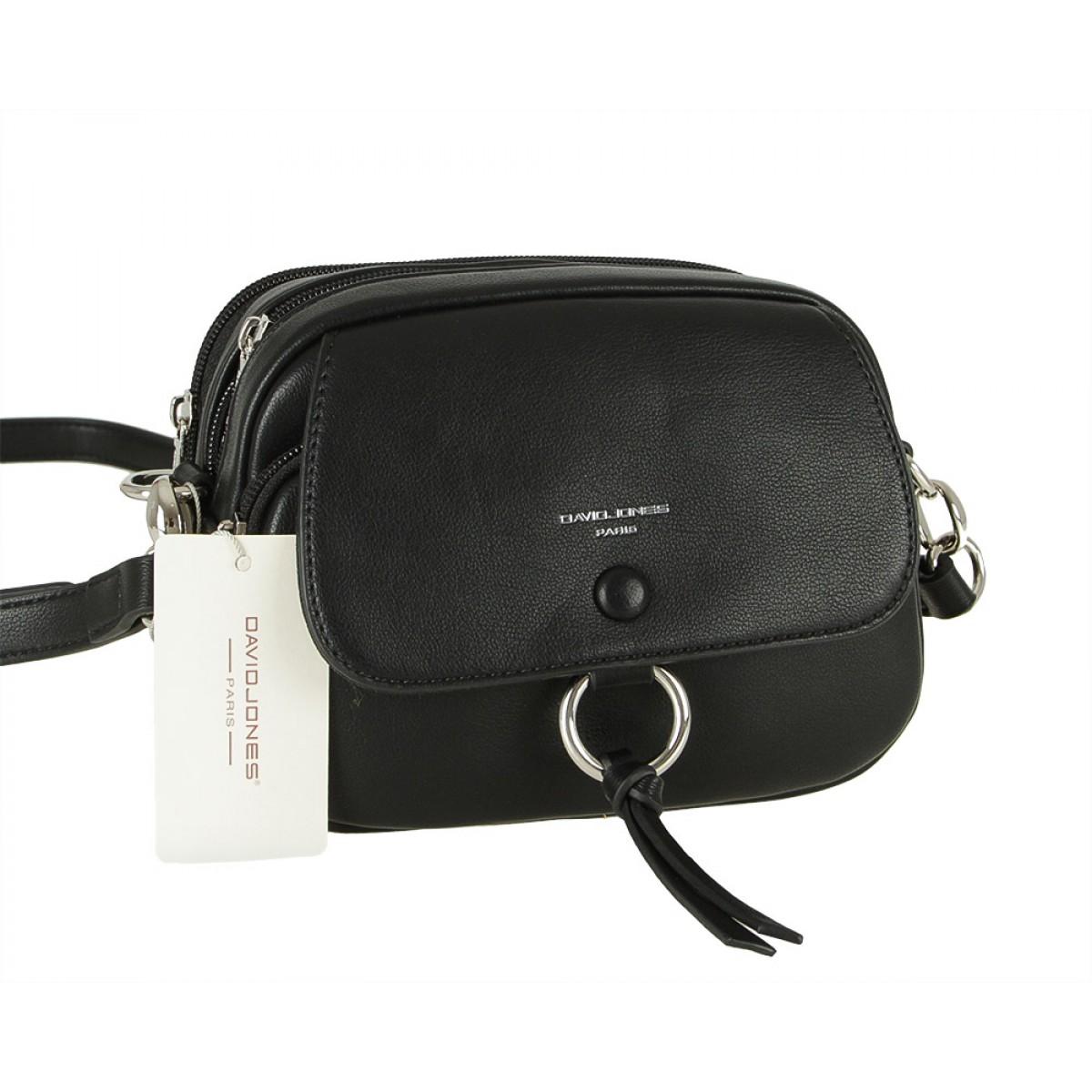 Жіноча сумка David Jones 6277-1 BLACK