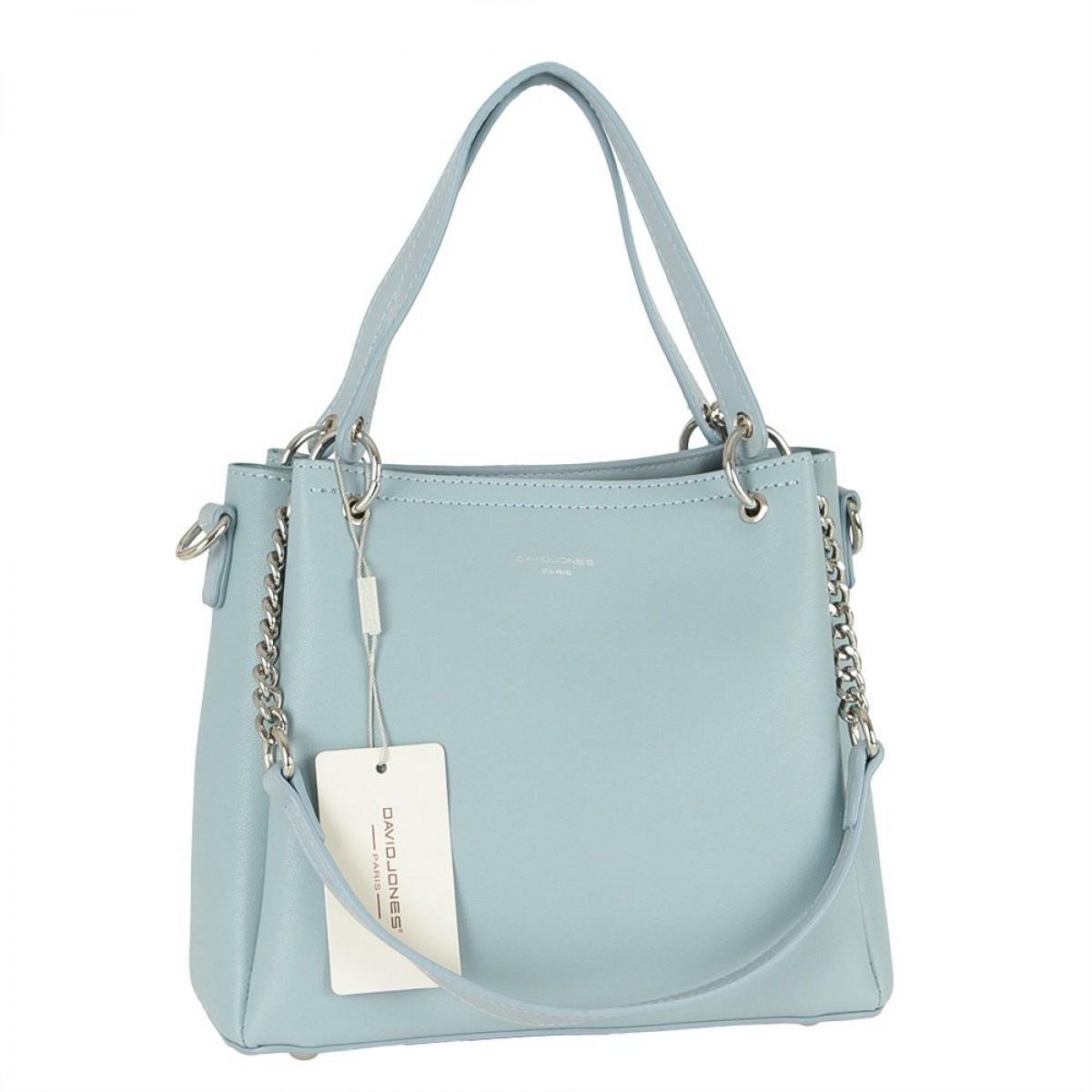 Жіноча сумка David Jones 6278-1 L.BLUE