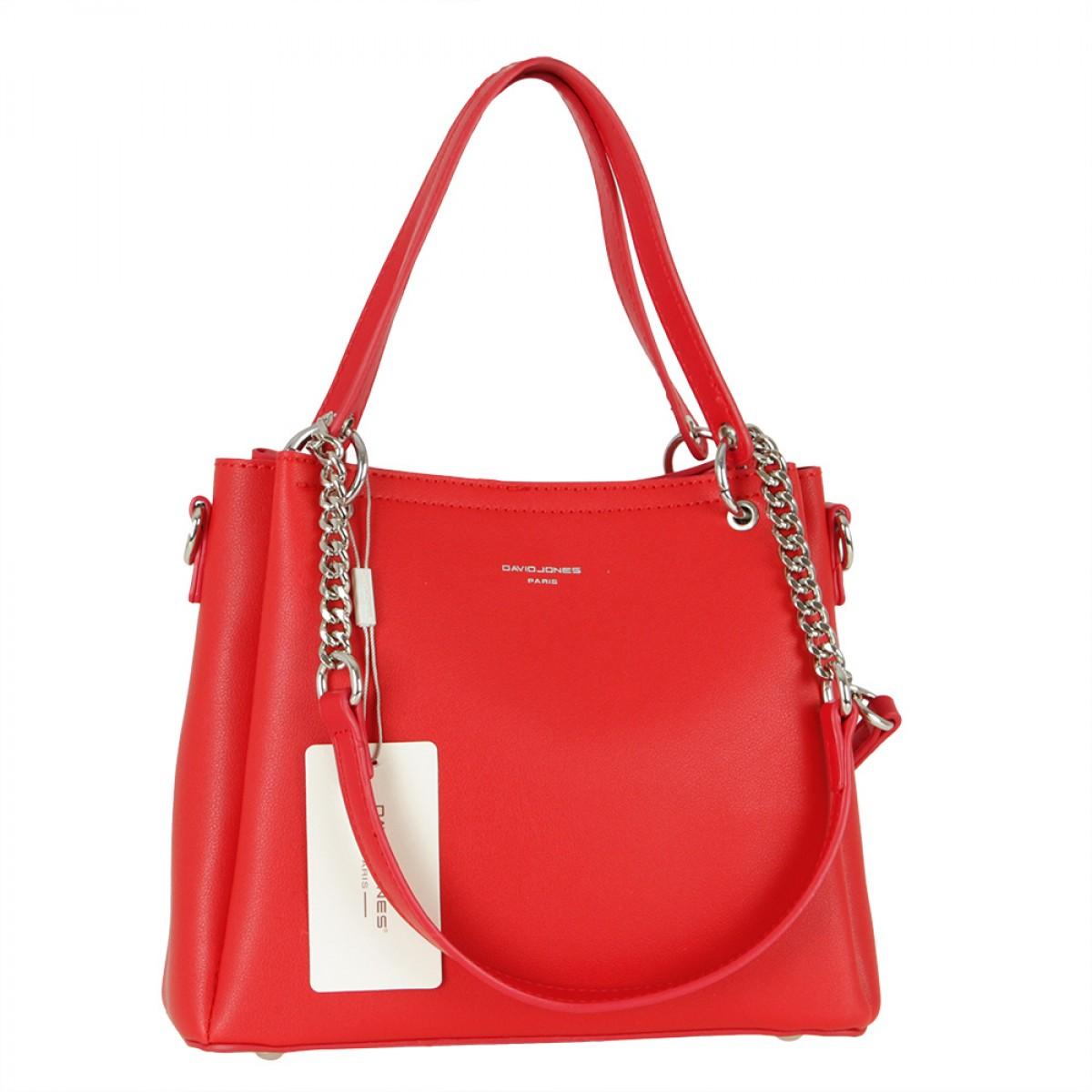 Жіноча сумка David Jones 6278-1 RED