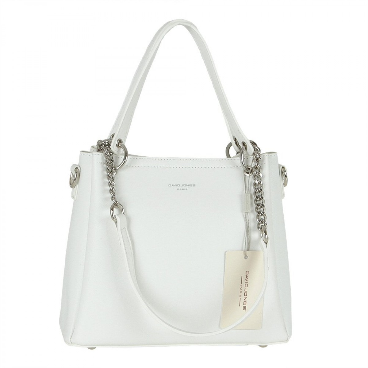 Жіноча сумка David Jones 6278-1 WHITE