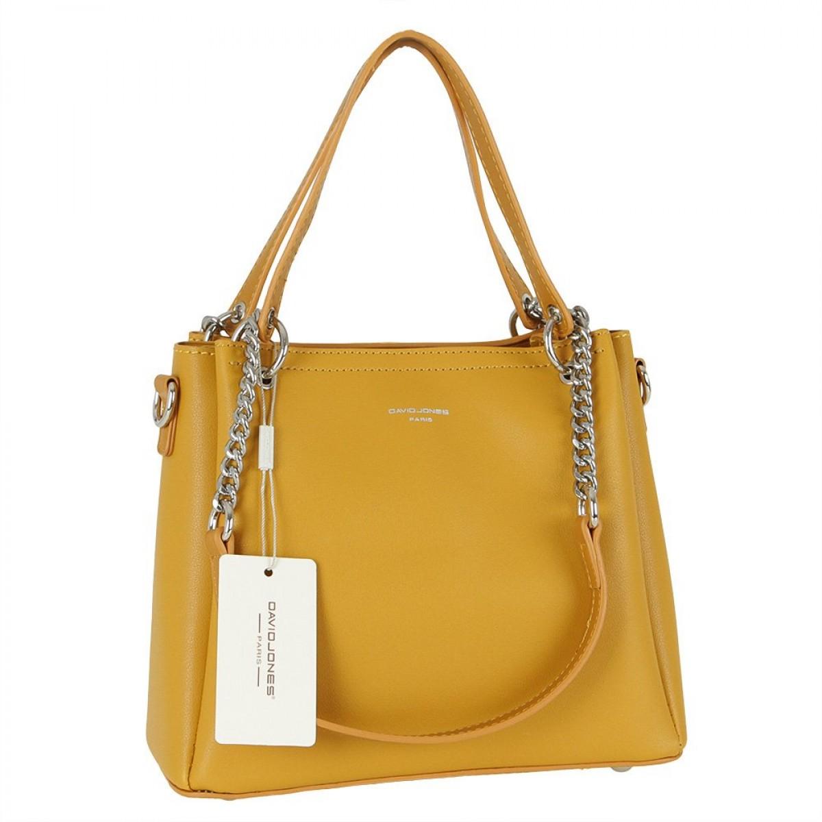 Жіноча сумка David Jones 6278-1 YELLOW