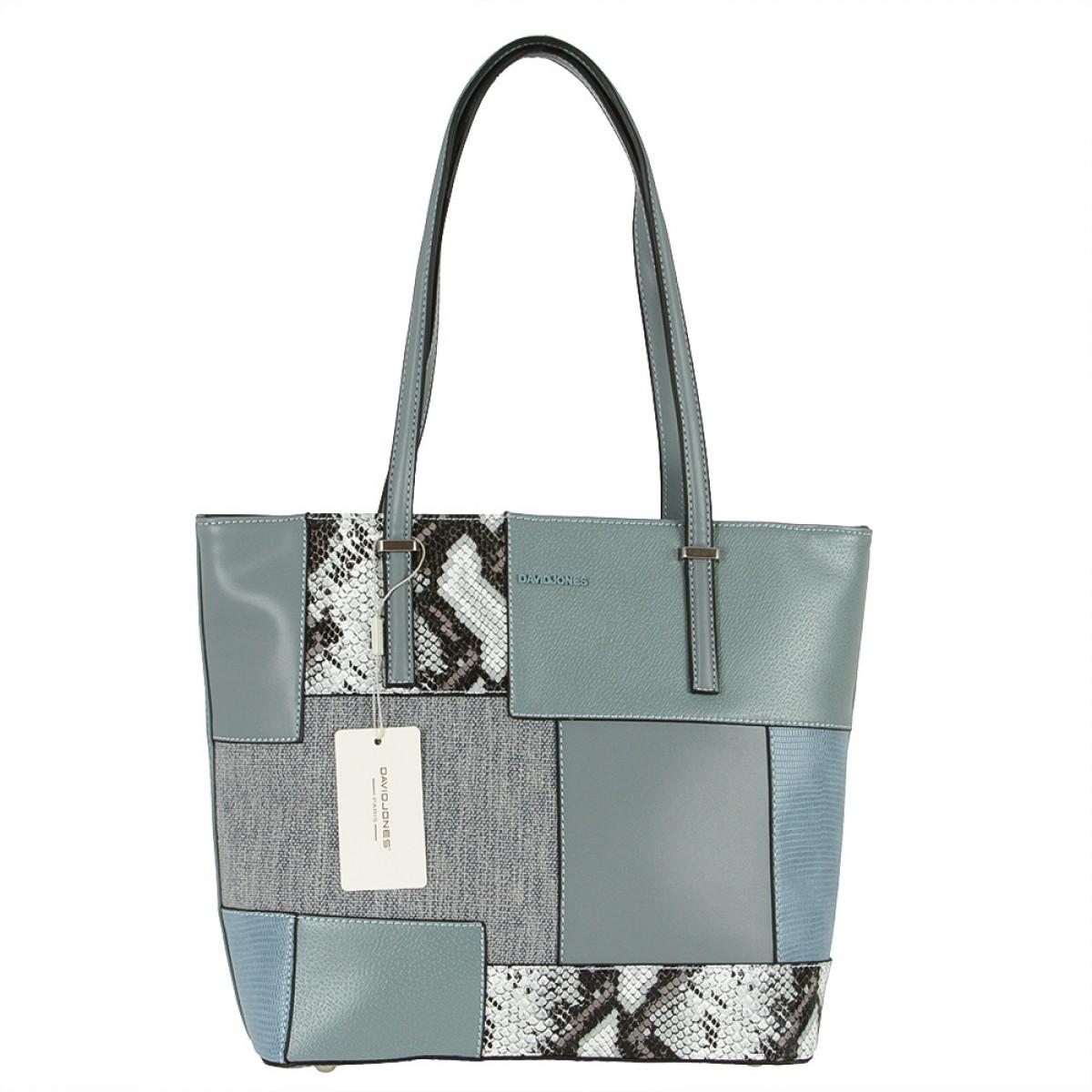 Жіноча сумка David Jones 6279-2 BLUE