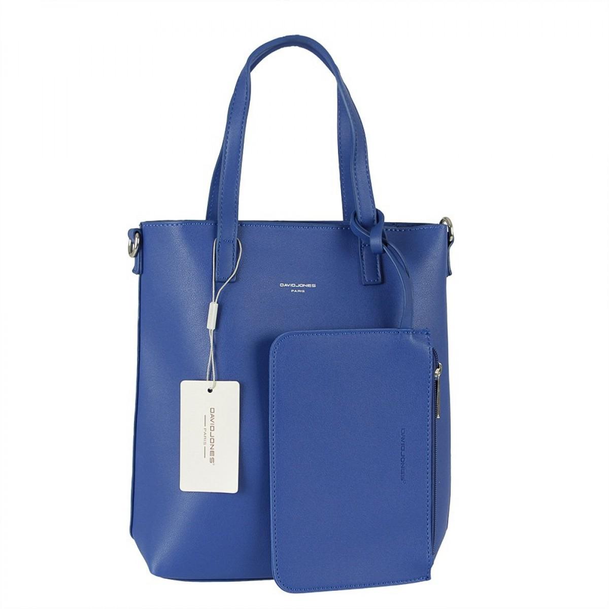 Жіноча сумка David Jones 6291-1 BLUE