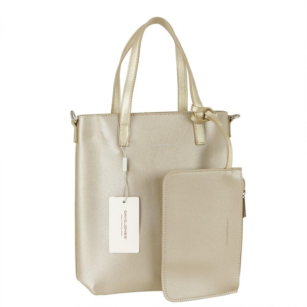 Жіноча сумка David Jones 6291-1 GOLD