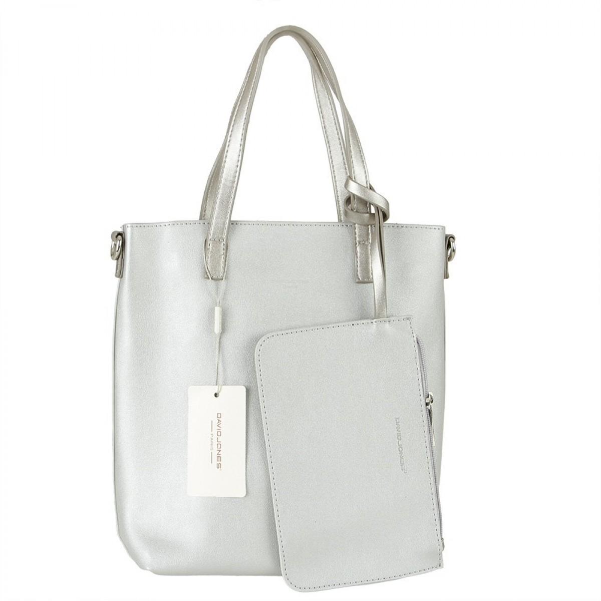 Жіноча сумка David Jones 6291-1 SILVER