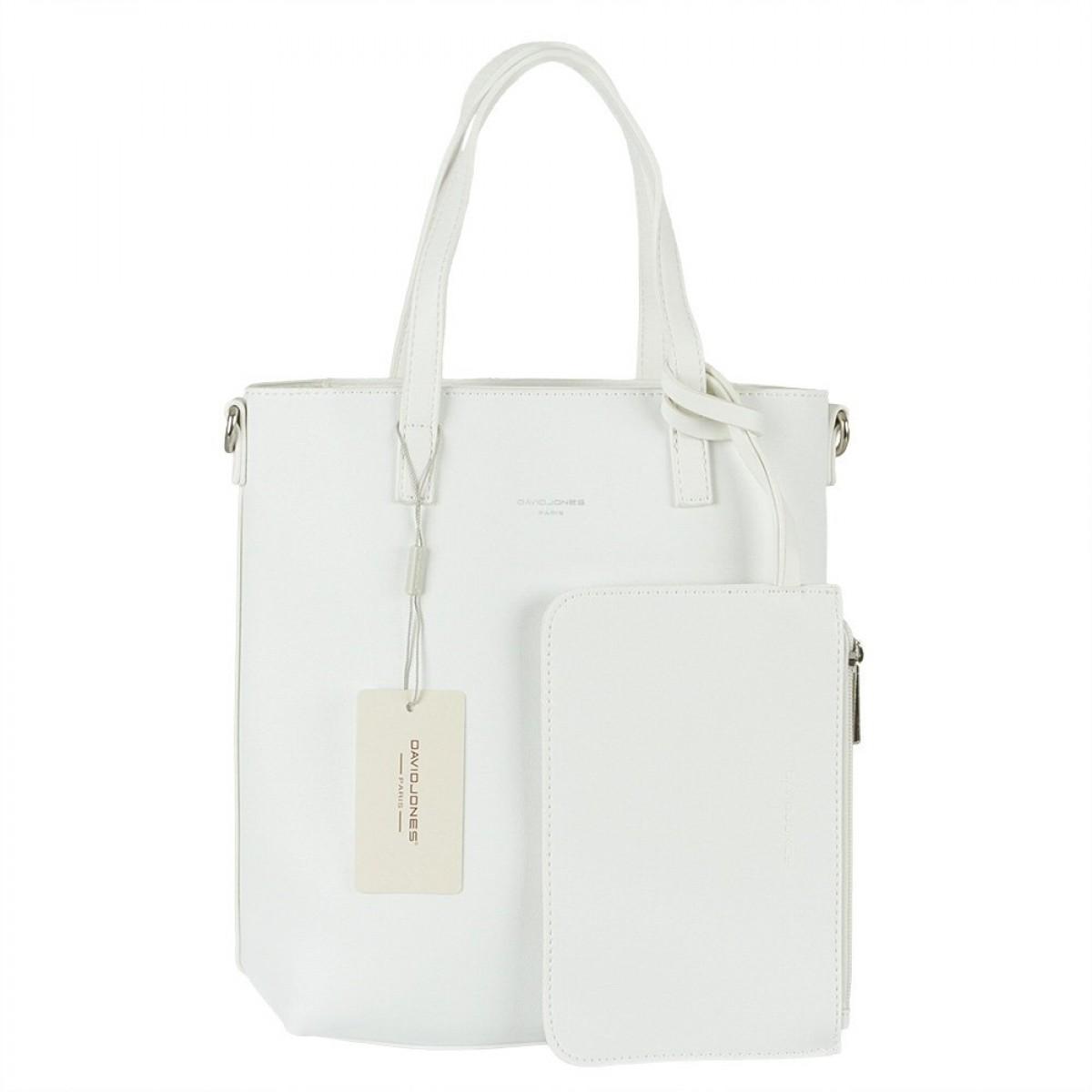 Жіноча сумка David Jones 6291-1 WHITE