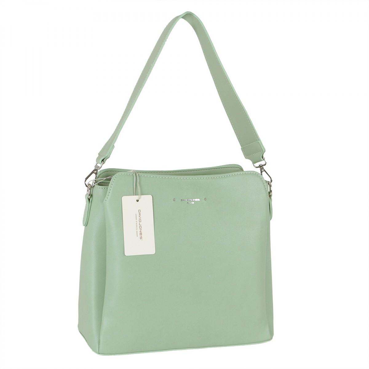 Жіноча сумка David Jones 6295-1 GREEN