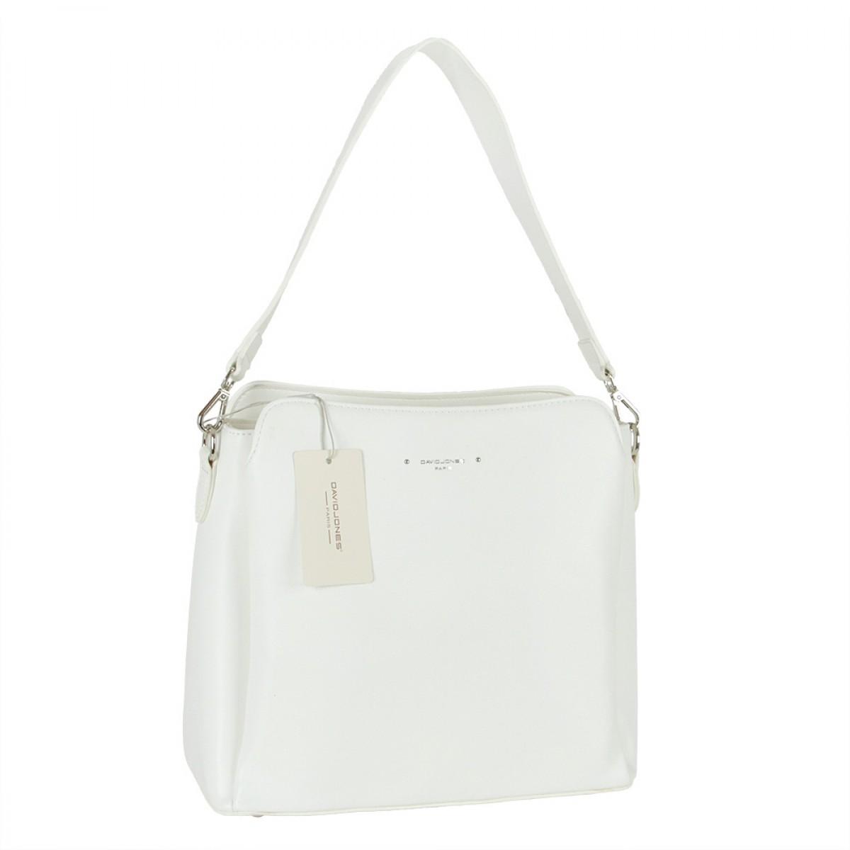 Жіноча сумка David Jones 6295-1 WHITE