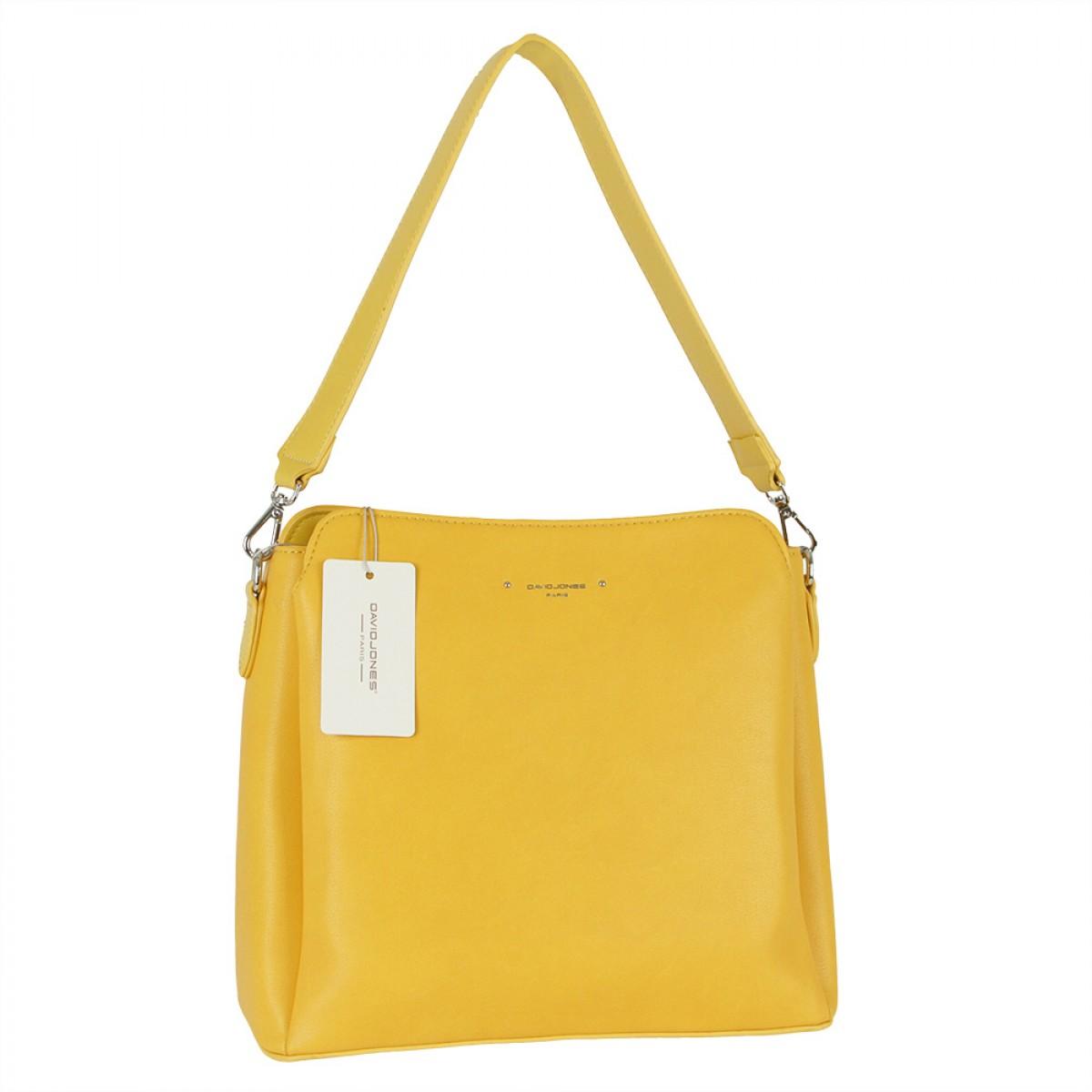 Жіноча сумка David Jones 6295-1 YELLOW
