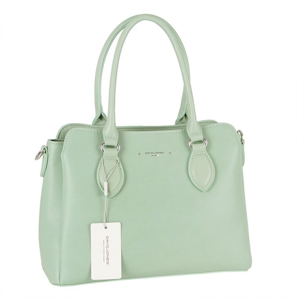 Жіноча сумка David Jones 6295-2 GREEN