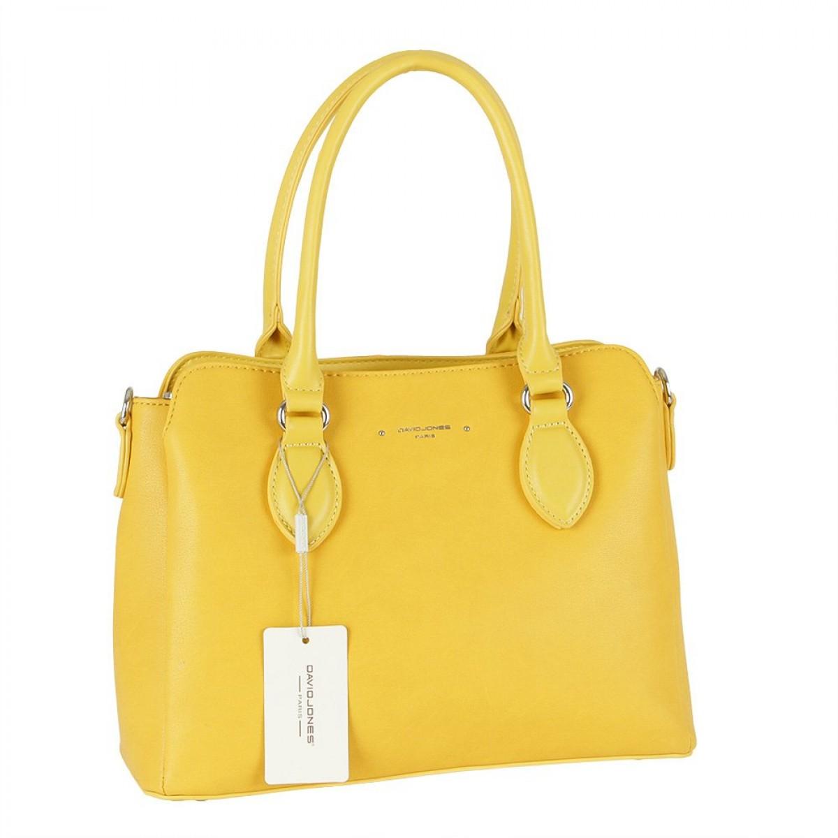 Жіноча сумка David Jones 6295-2 YELLOW