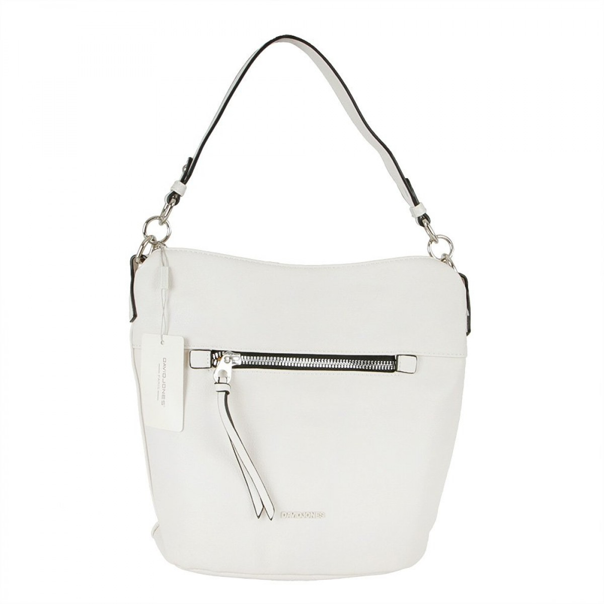 Жіноча сумка David Jones 6296-1 CREAMY WHITE