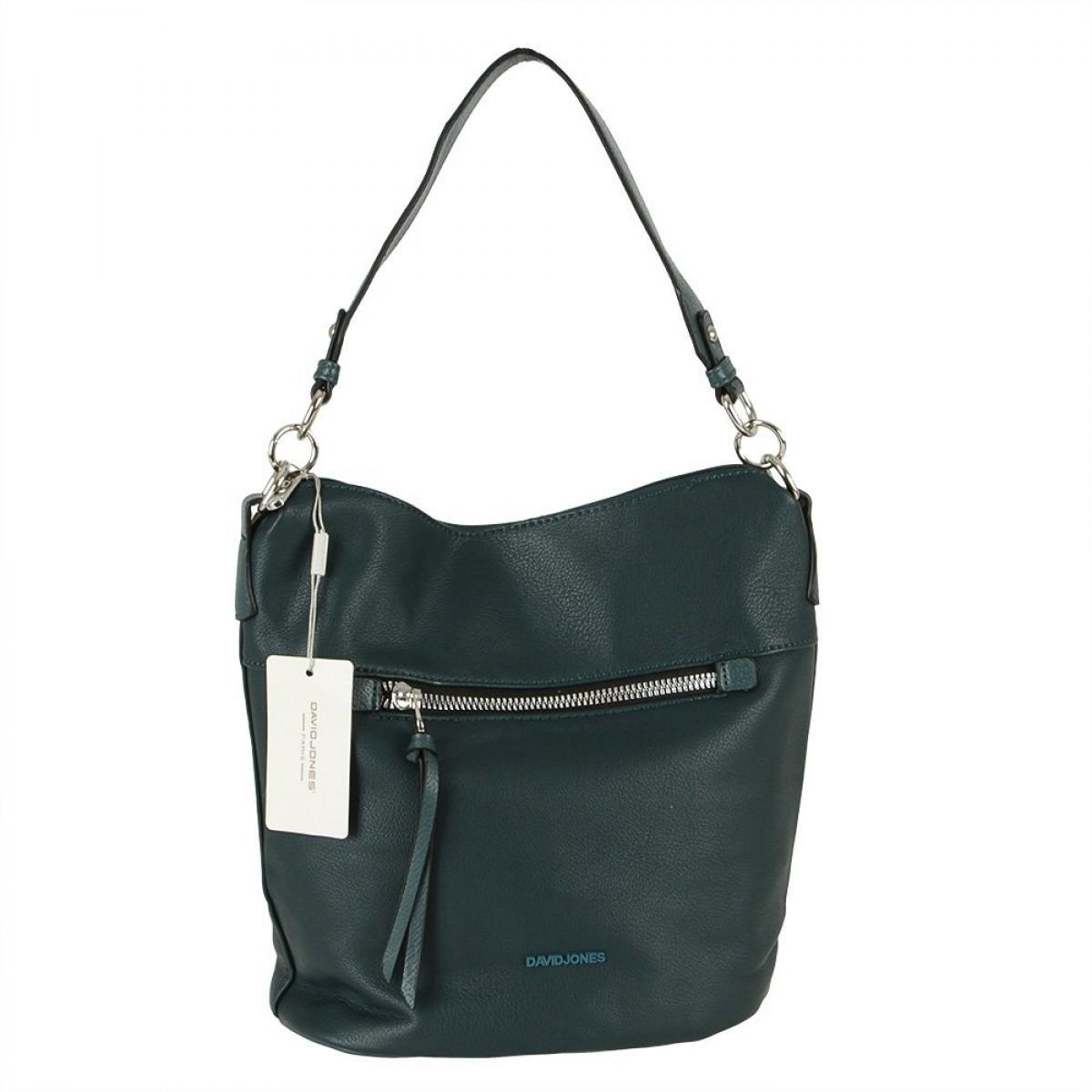 Жіноча сумка David Jones 6296-1 D.GREEN