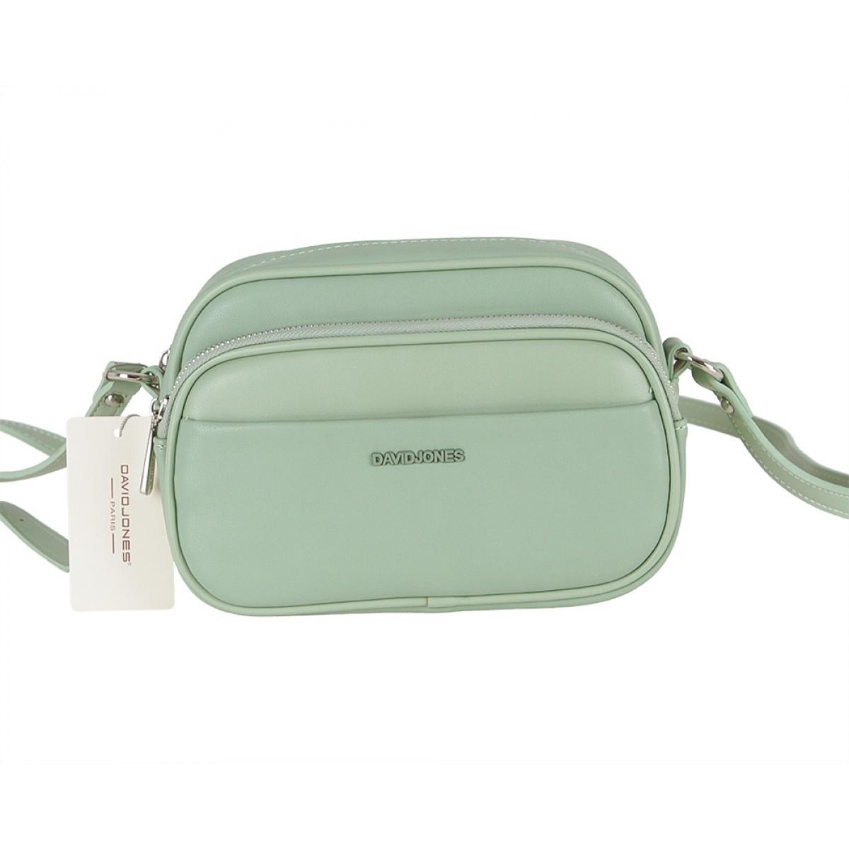 Жіноча сумка David Jones  6297-1 LIGHT GREEN