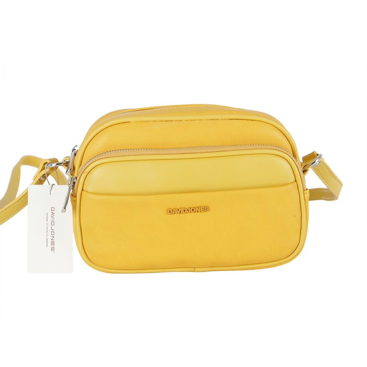 Жіноча сумка David Jones 6297-1 YELLOW