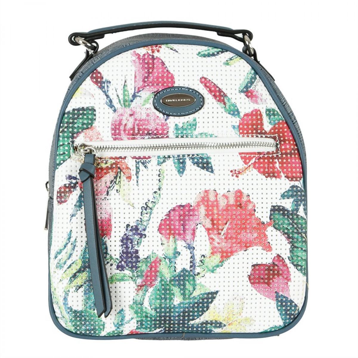 Жіночий рюкзак David Jones 6298-2 D.BLUE