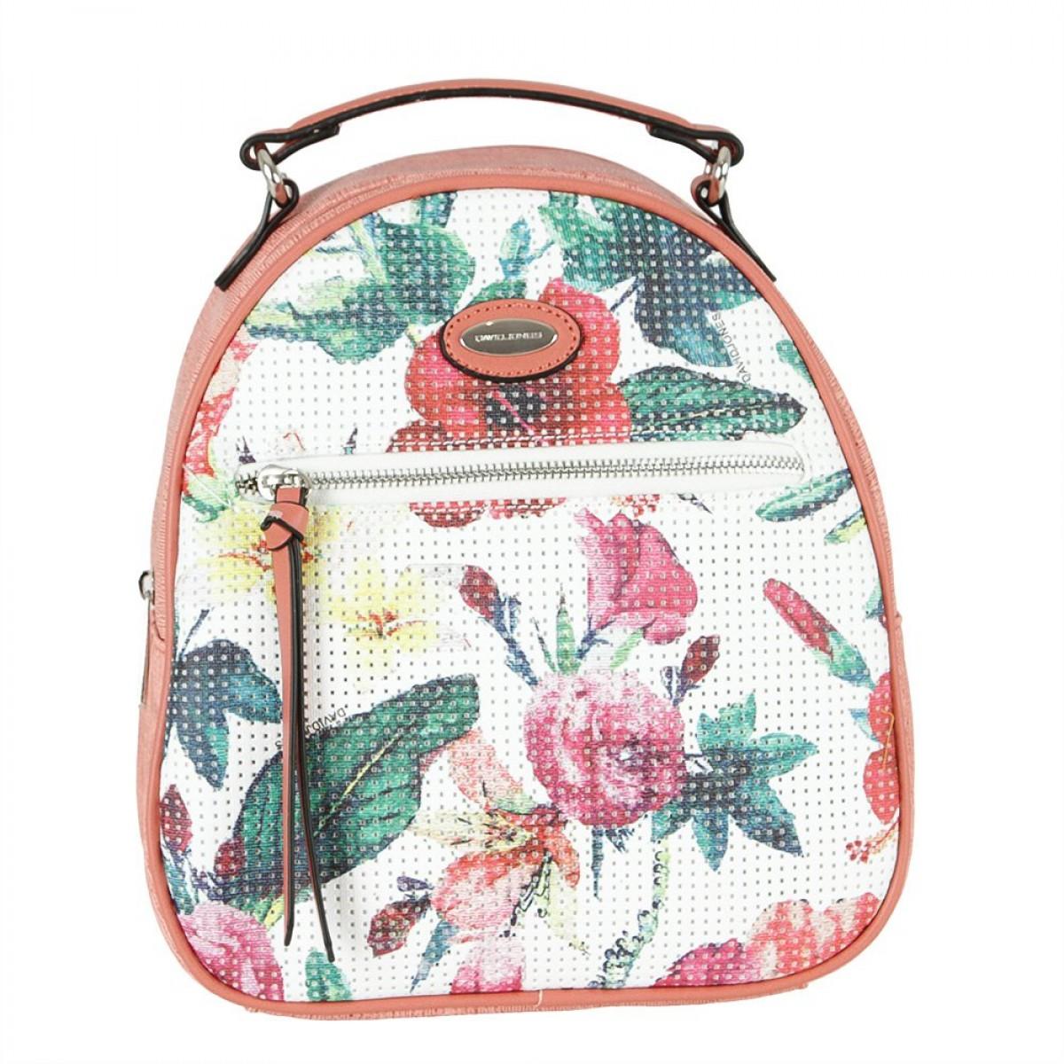 Жіночий рюкзак David Jones 6298-2 RASPBERRY