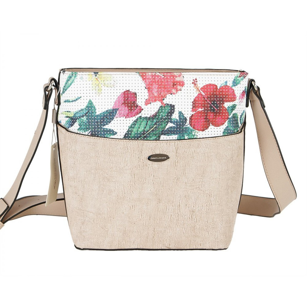 Жіноча сумка David Jones 6298-1 BEIGE