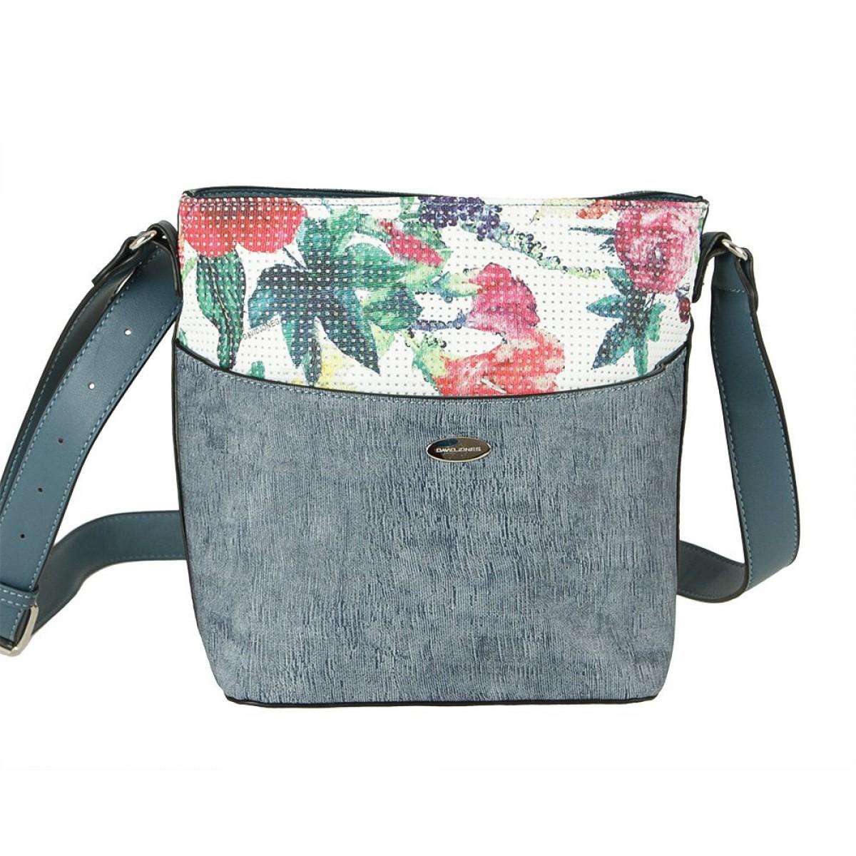 Жіноча сумка David Jones 6298-1 D.BLUE