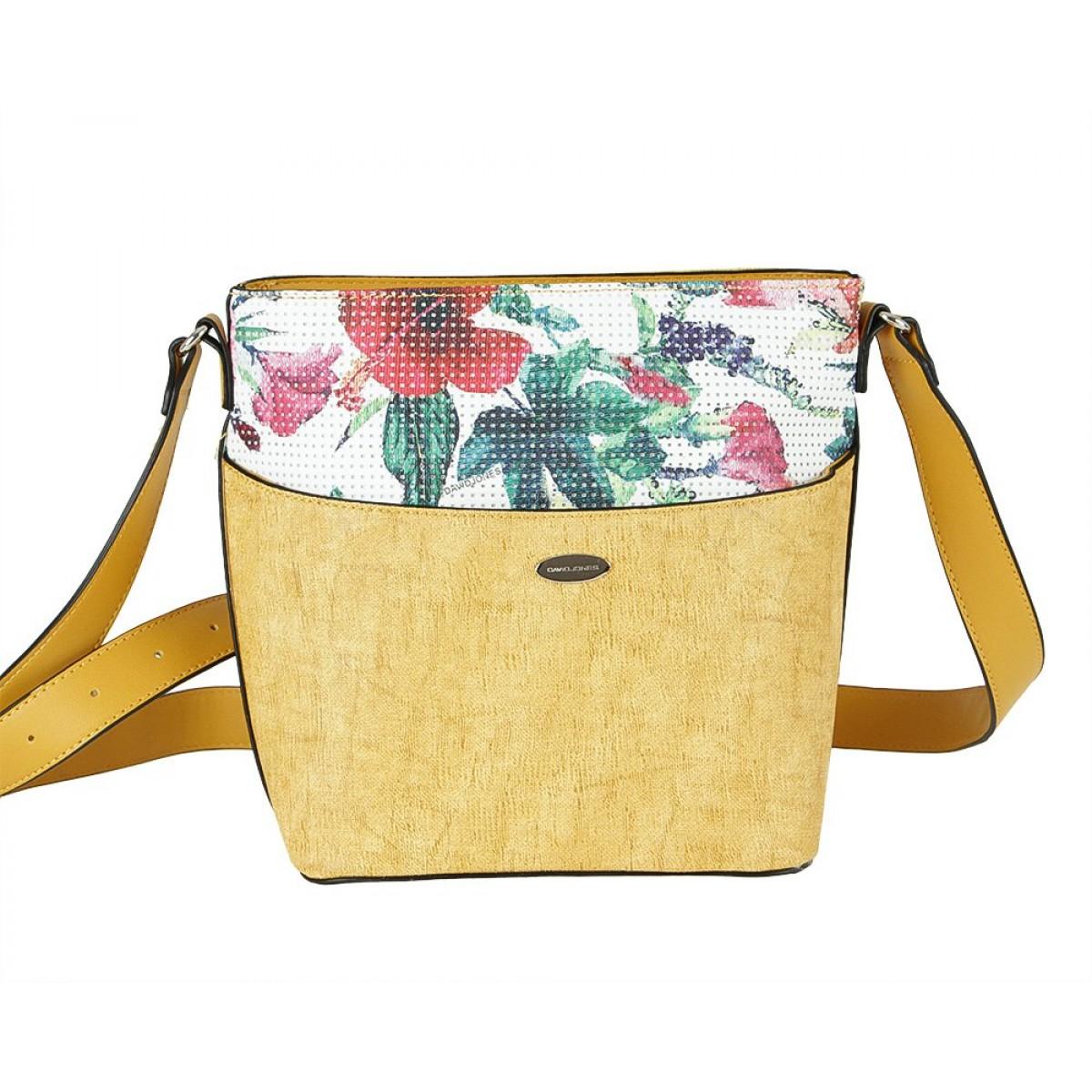 Жіноча сумка David Jones 6298-1 YELLOW