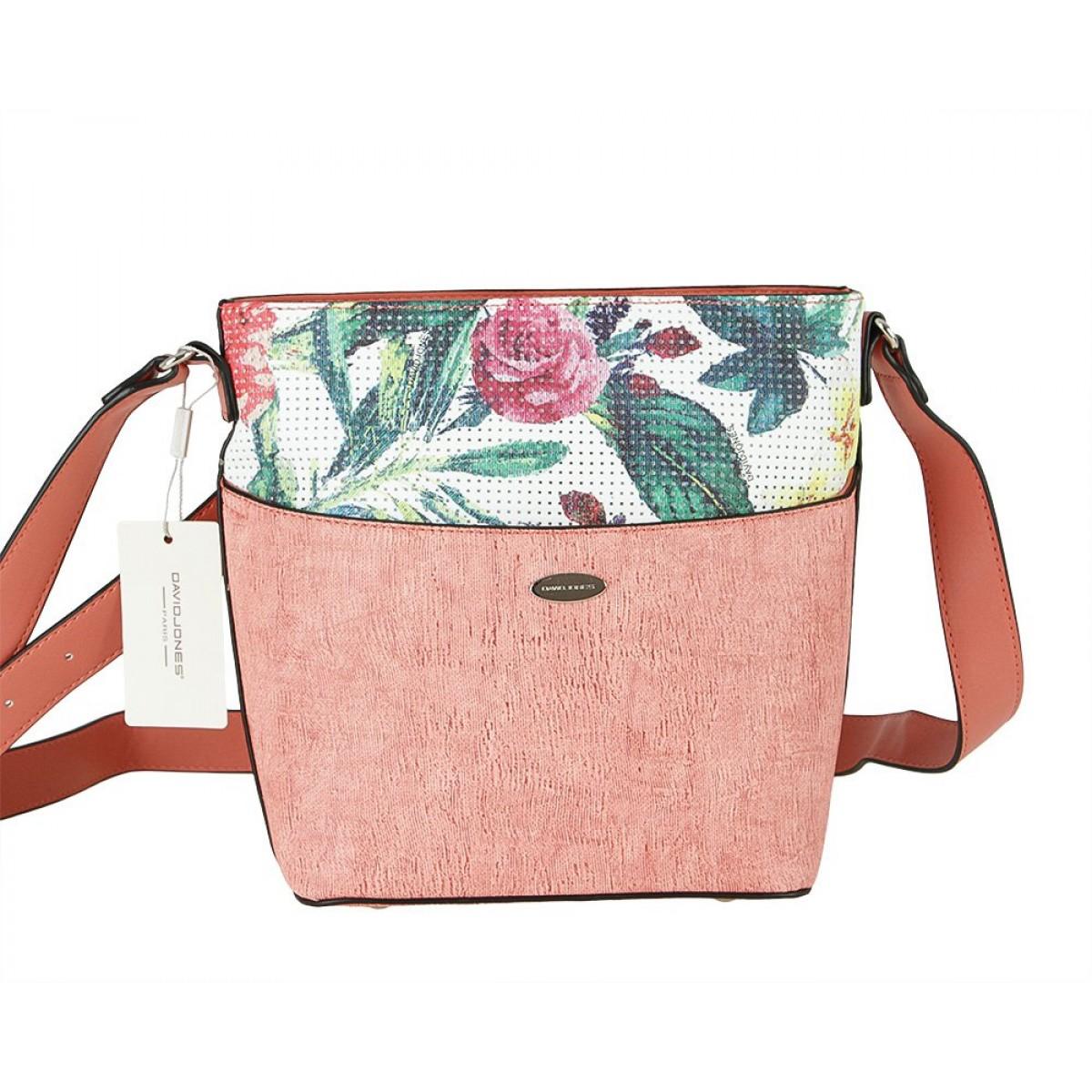Жіноча сумка David Jones 6298-1 RASPBERRY