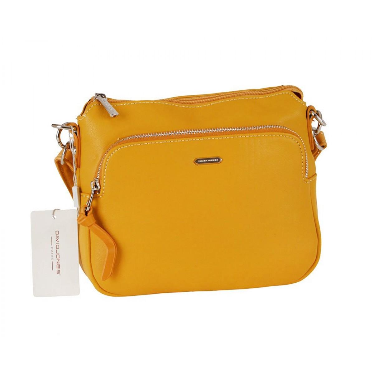 Жіноча сумка David Jones 6299-1 YELLOW