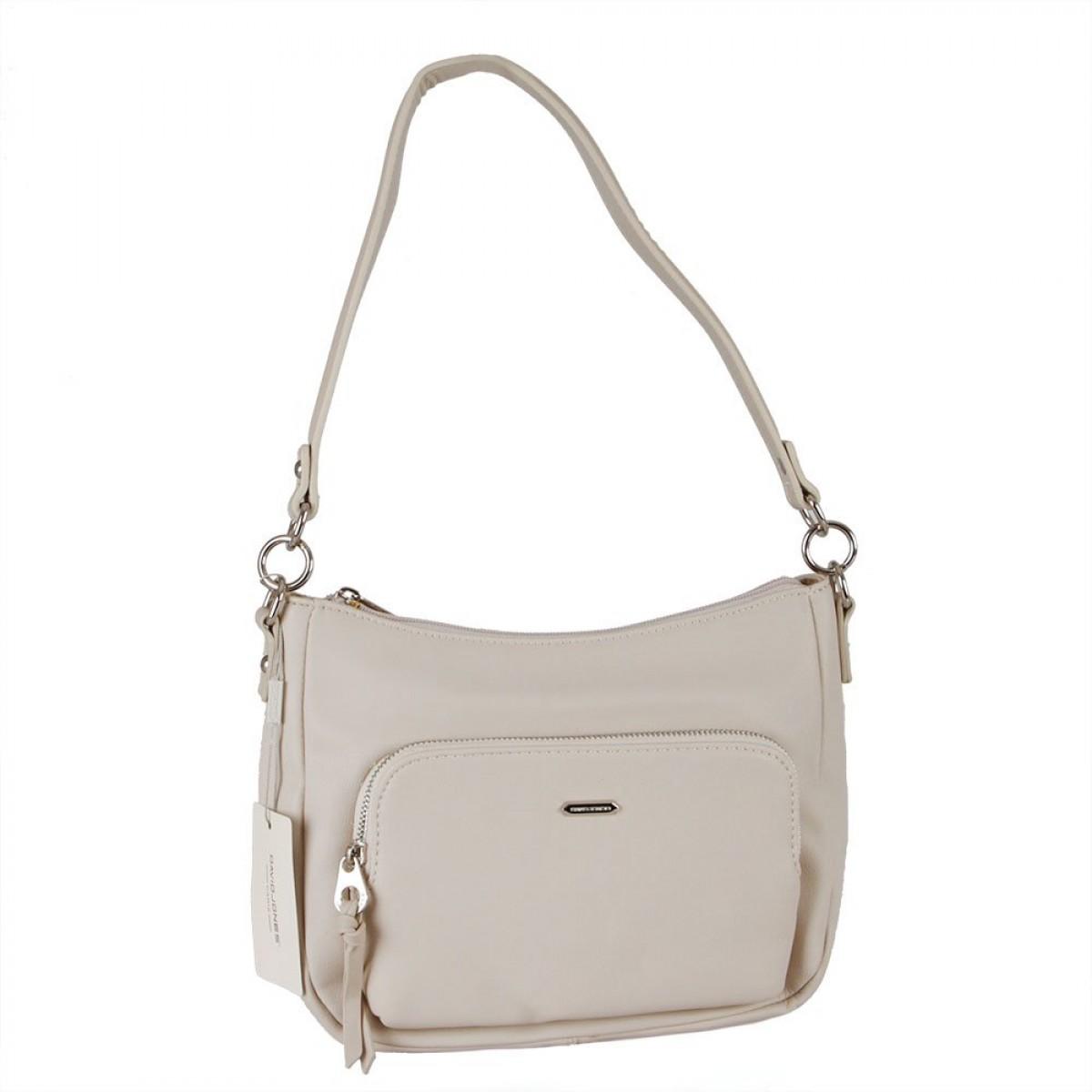 Жіноча сумка David Jones 6299-2 CREAMY WHITE
