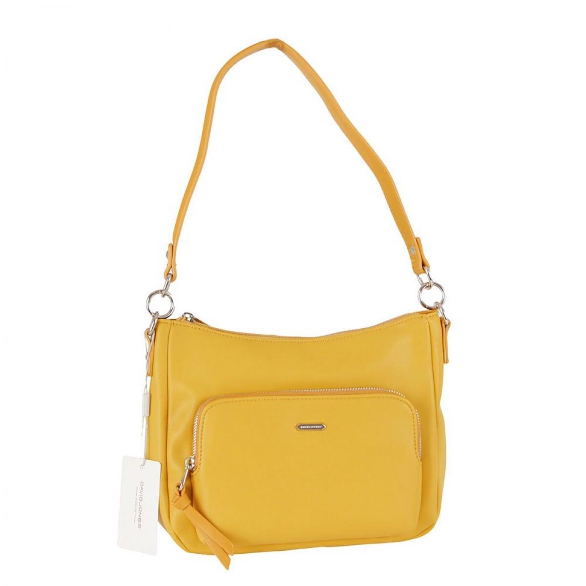 Жіноча сумка David Jones 6299-2 YELLOW