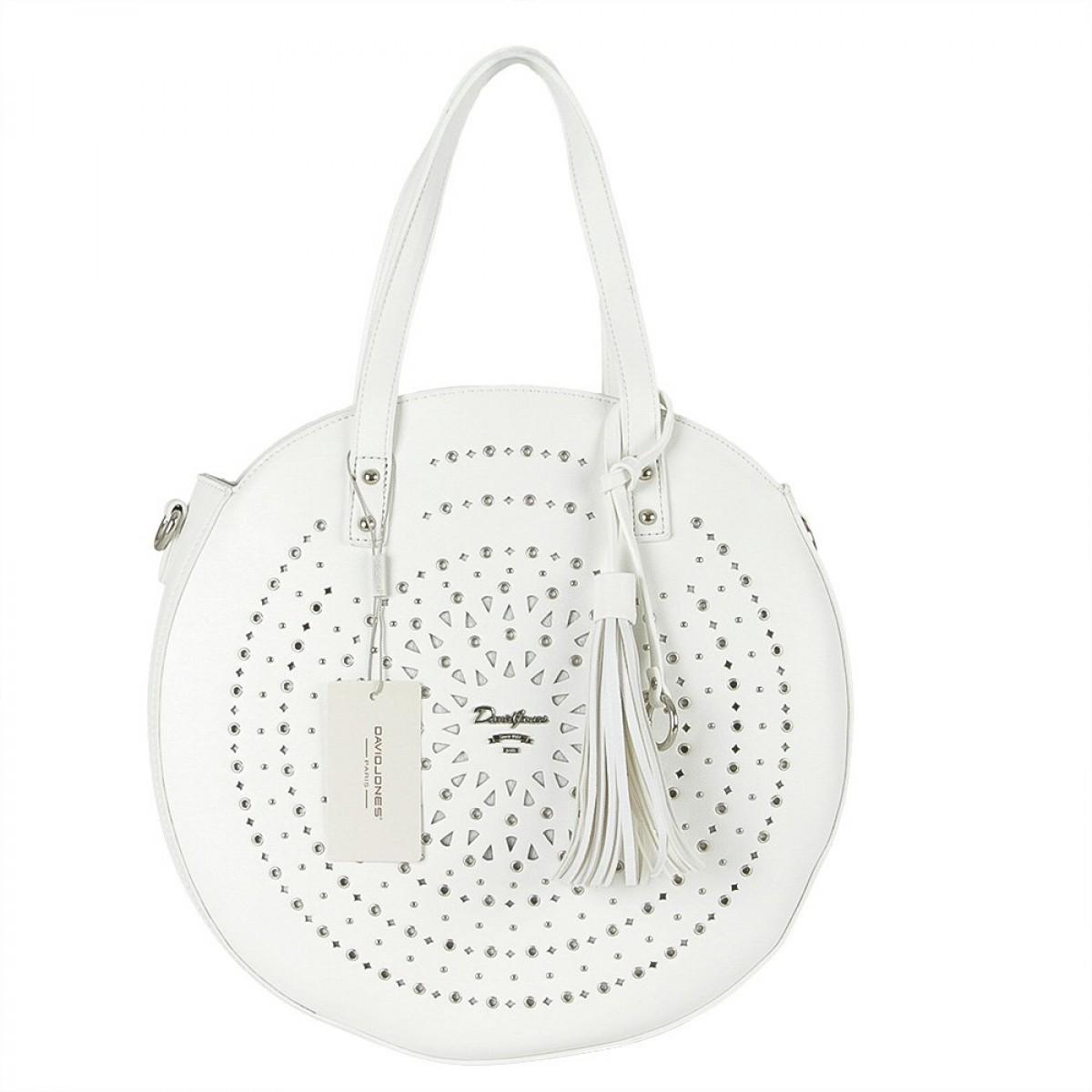Жіноча сумка David Jones 6303-1 WHITE