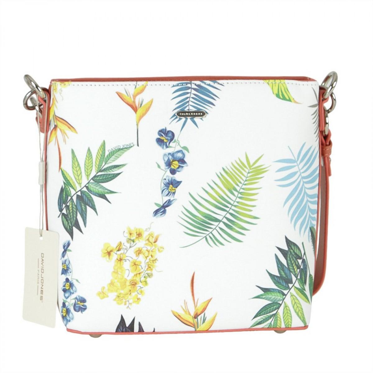 Жіноча сумка David Jones 6306-3 RASPBERRY