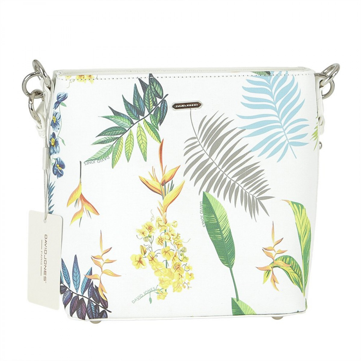 Жіноча сумка David Jones 6306-3 WHITE