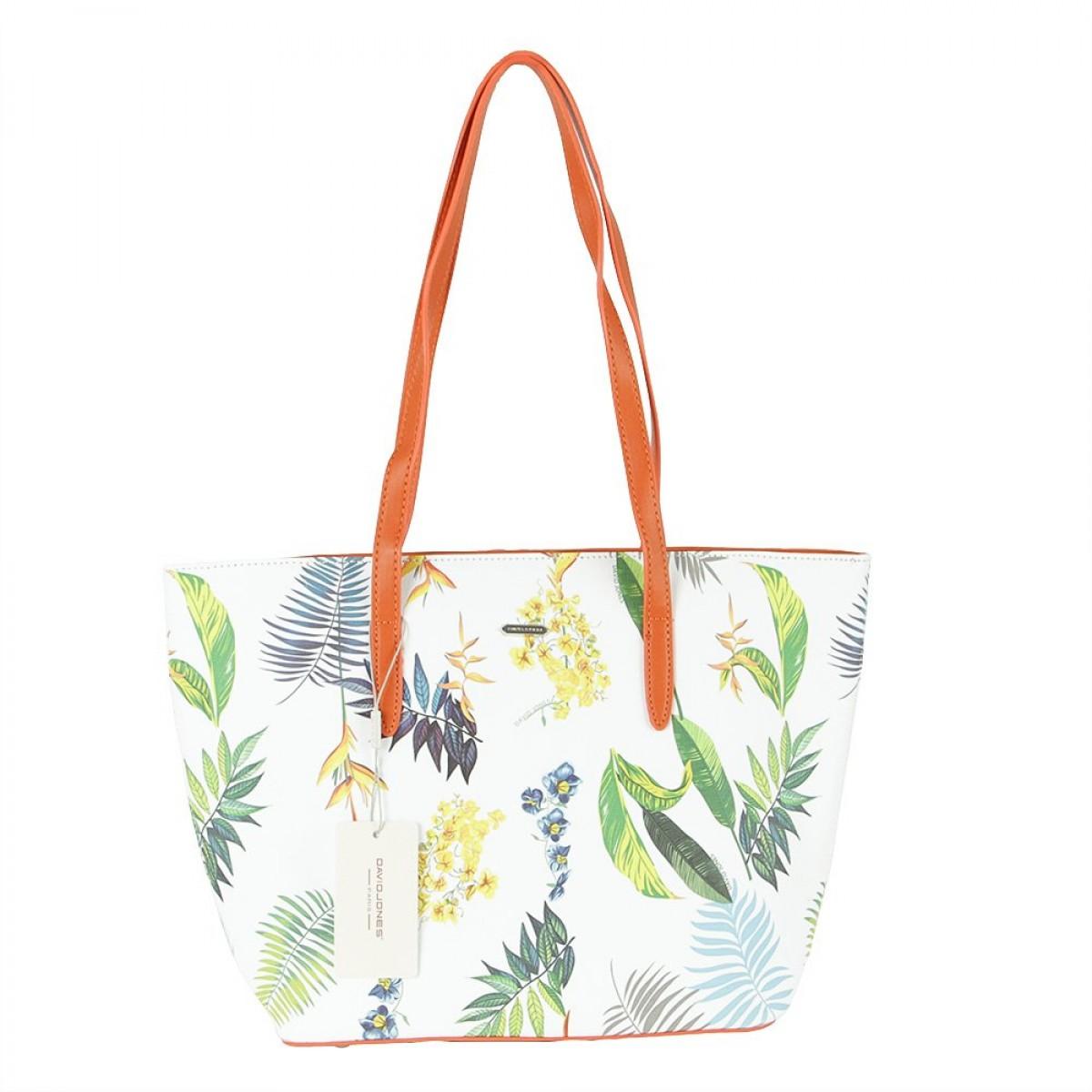 Жіноча сумка David Jones 6306-4 ORANGE