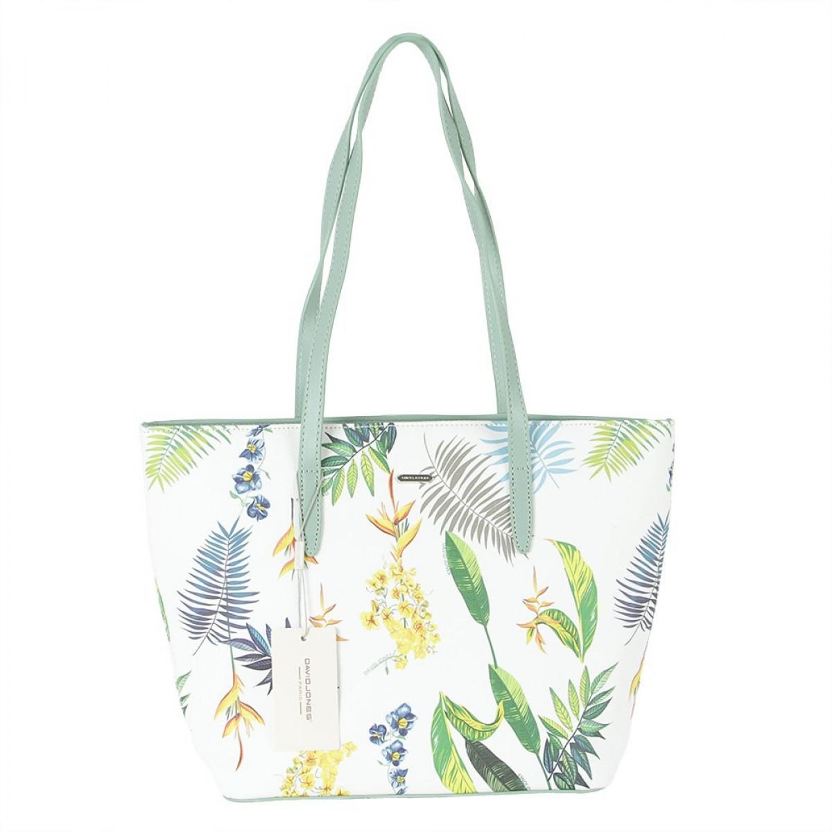Жіноча сумка David Jones 6306-4 PALE GREEN