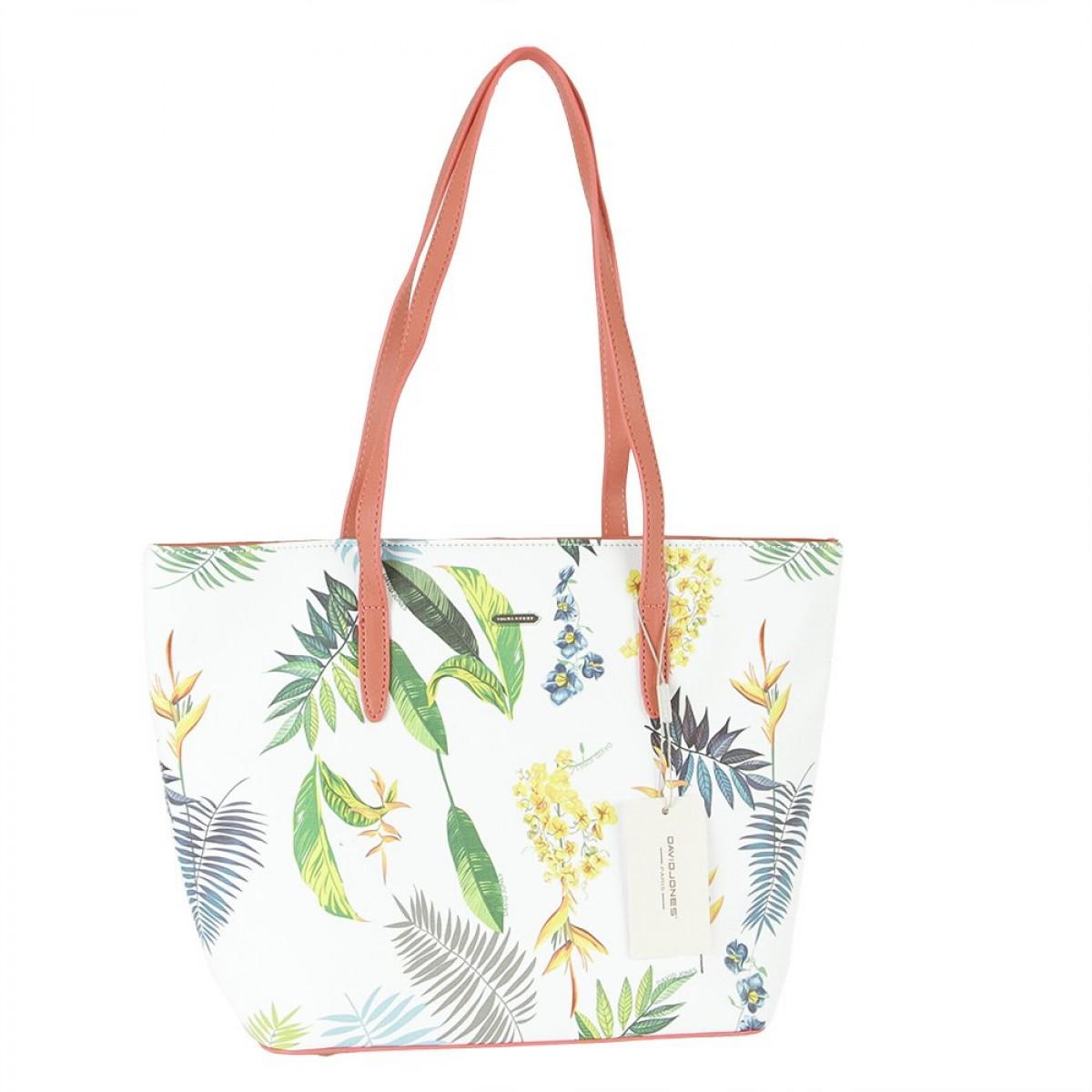 Жіноча сумка David Jones 6306-4 RASPBERRY