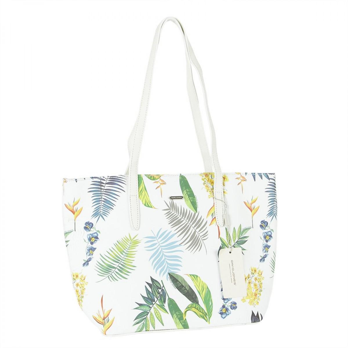 Жіноча сумка David Jones 6306-4 WHITE