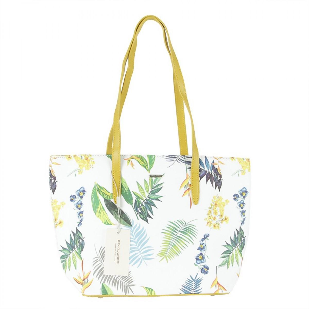 Жіноча сумка David Jones 6306-4 YELLOW
