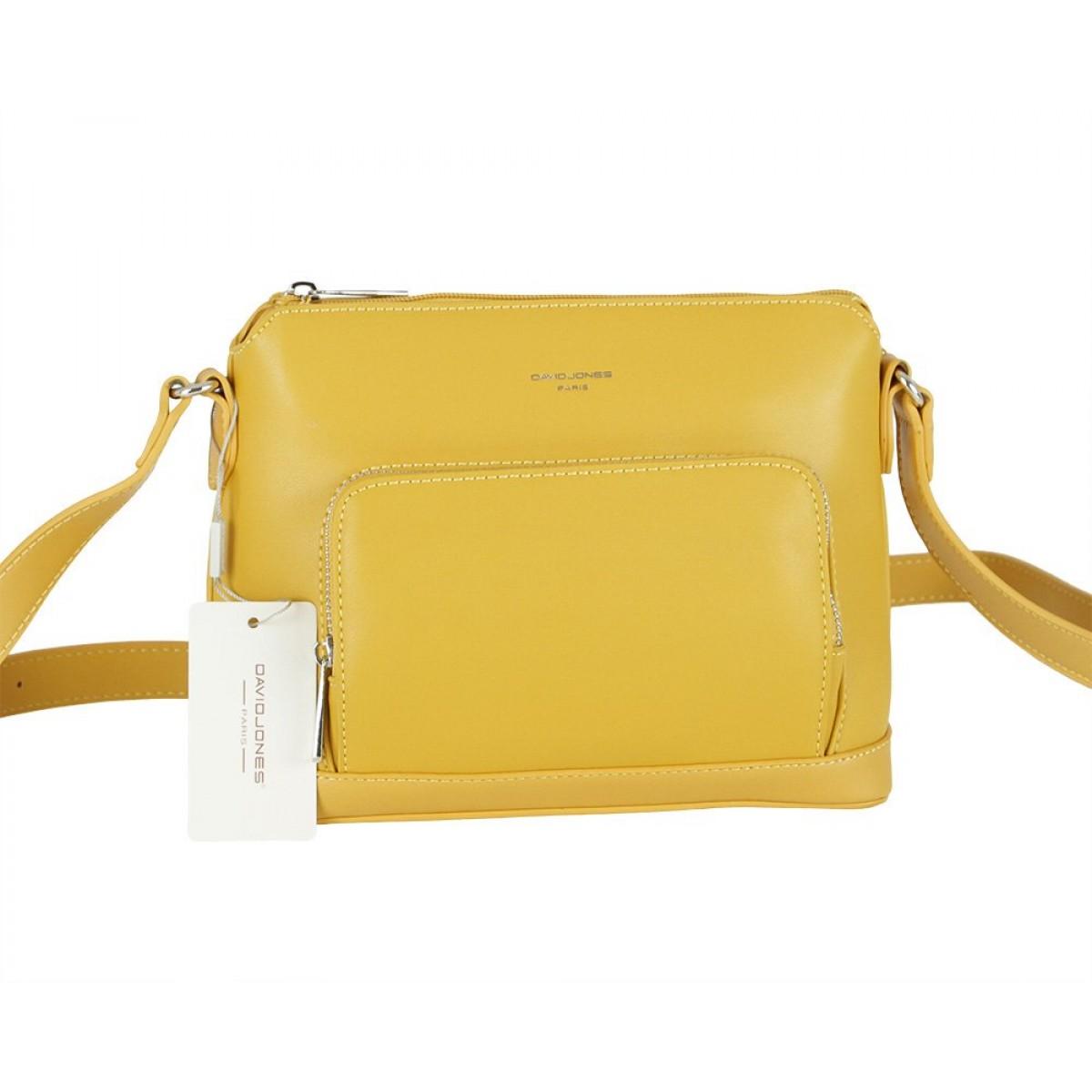 Жіноча сумка David Jones 6307-1 YELLOW