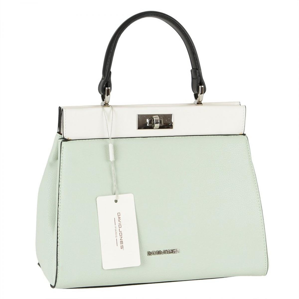 Жіноча сумка David Jones 6310-1 PALE GREEN