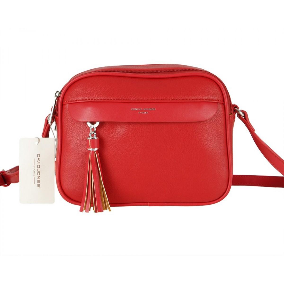 Жіноча сумка David Jones 6313-1 RED