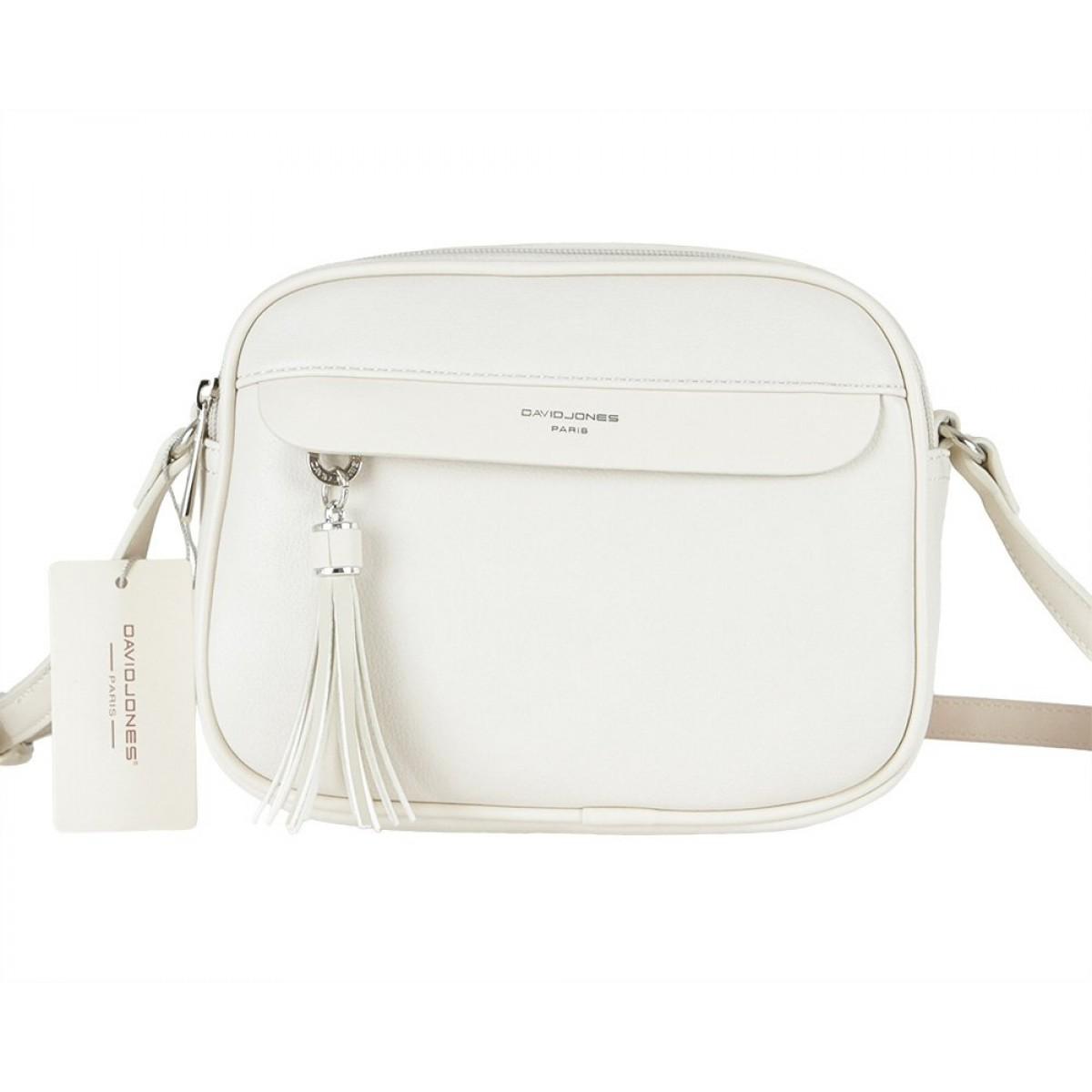 Жіноча сумка David Jones 6313-1 WHITE