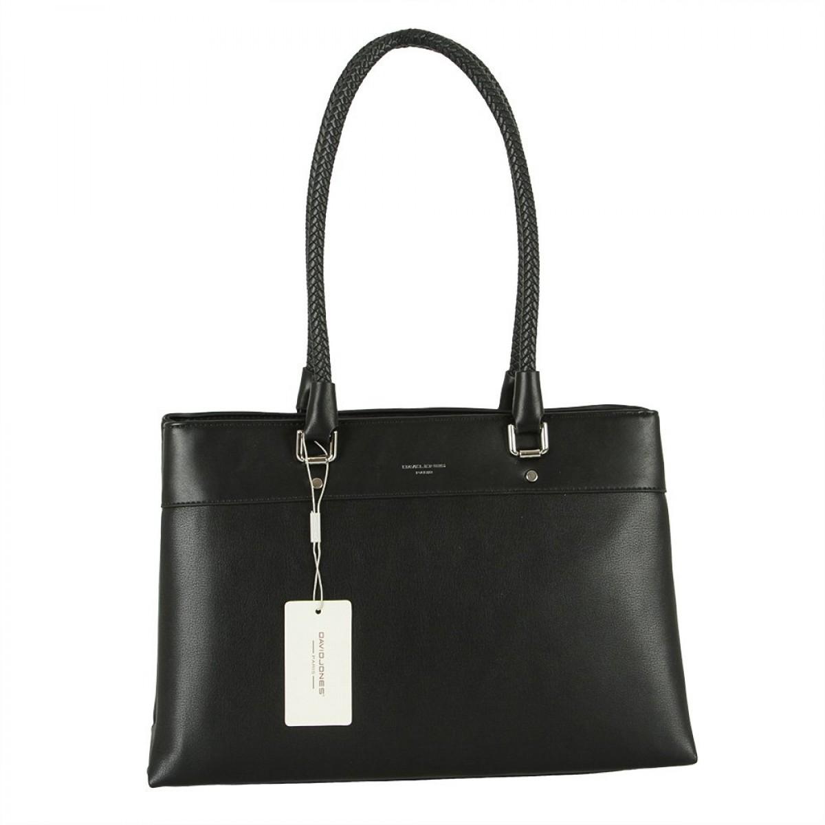 Жіноча сумка David Jones 6314-2 BLACK
